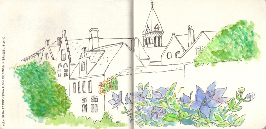 View from Peter's Deck: Brugge